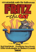 Fritz the Cat Poster 70x100cm FN original