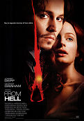 From Hell 2001 poster Johnny Depp