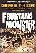 Fruktans monster 1971 poster Christopher Lee