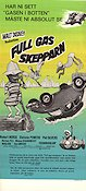 Full gas skepparn Poster 30x70cm NM original