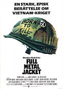 Full Metal Jacket 1987 poster Matthew Modine Stanley Kubrick