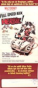 Full speed igen Herbie 1974 poster Helen Hayes