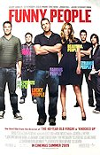 Funny People 2009 poster Adam Sandler