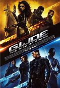 G I Joe: The Rise of Cobra 2009 poster Dennis Quaid Stephen Sommers