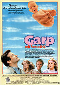 Garp och hans värld 1982 poster Robin Williams George Roy Hill