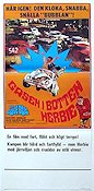 Gasen i botten Herbie 1969 poster Dean Jones Robert Stevenson