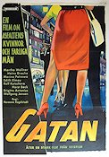 Gatan 1959 poster Martha Wallner