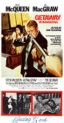 The Getaway 1972 poster Steve McQueen Sam Peckinpah