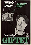 Giftet 1951 poster Michel Simon Sacha Guitry