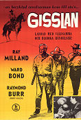 Gisslan 1955 poster Mary Murphy Ray Milland