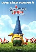 Gnomeo and Juliet 2011 poster
