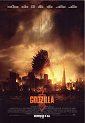 Godzilla 2014 poster Aaron Taylor-Johnson Gareth Edwards