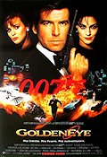 Goldeneye 1995 poster Pierce Brosnan