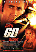 Gone in 60 Seconds Poster 70x100cm FN folded original