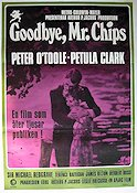 Goodbye Mr Chips 1970 poster Peter O´Toole