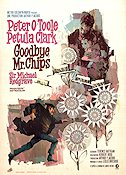 Goodbye Mr Chips 1970 Filmaffisch Peter O'Toole