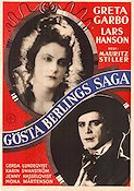 Gösta Berlings saga 1924 poster Greta Garbo