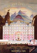 The Grand Budapest Hotel 2014 poster Ralph Fiennes Wes Anderson