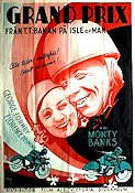 Grand Prix Isle of Man 1935 poster George Formby Monty Banks