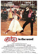 Grease Poster 70x100cm FN folded original
