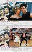 Grease 1978 lobbykort John Travolta