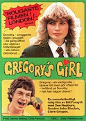 Gregory´s Girl 1982 poster Dee Hepburn Bill Forsyth