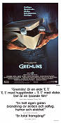 Gremlins 1984 poster Zach Galligan Joe Dante