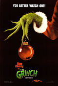 The Grinch 2000 poster Jim Carrey Ron Howard