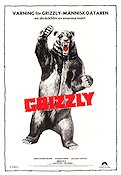 Grizzly 1976 poster Christopher George