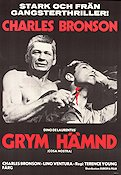 Grym hämnd 1972 poster Charles Bronson Terence Young