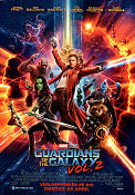 Guardians of the Galaxy Vol 2 2017 poster Chris Pratt James Gunn