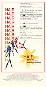 Hair Poster 30x70cm FN original