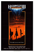 Halloween III Season of the Witch 1982 poster Tom Atkins Tommy Lee Wallace