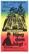 Häng dom högt 1968 poster Clint Eastwood Ted Post