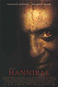 Hannibal 2000 poster Anthony Hopkins Ridley Scott