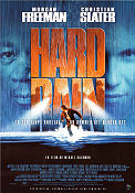 Hard Rain 1998 poster Morgan Freeman Mikael Salomon