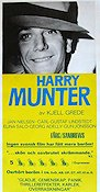 Harry Munter 1970 Filmaffisch Jan Nielsen Kjell Grede