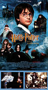 Harry Potter och de vises sten 2001 poster Daniel Radcliffe Chris Columbus