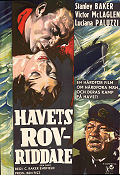 Havets rovriddare 1959 poster Stanley Baker Cy Endfield
