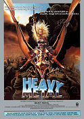 Heavy Metal 1981 poster John Candy Gerald Potterton
