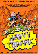 Heavy Traffic 1973 poster Ralph Bakshi