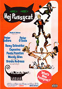 Hej Pussycat 1965 poster Peter Sellers Clive Donner
