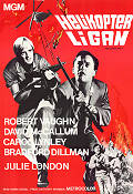 Helikopterligan 1968 poster Robert Vaughn Boris Sagal