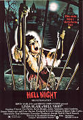 Hell Night 1981 Filmaffisch Linda Blair Tom DeSimone