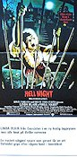 Hell Night Poster 30x70cm NM original