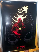 Limited edition Hellboy II Summer 2008 No 1535 of 2008 San Diego Comic Con Signed 2008 affisch