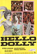 Hello Dolly! 1969 poster Barbra Streisand Gene Kelly