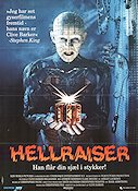 Hellraiser 1987 poster Andrew Robinson Clive Barker