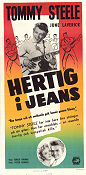 Hertig i jeans 1958 poster Tommy Steele Gerald Thomas