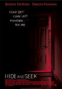 Hide and Seek 2004 poster Robert De Niro